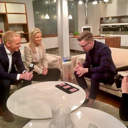 Hedné tryller for reportere i TV2 hos God morgen Norge